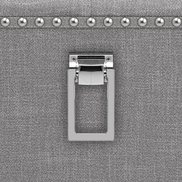 Silla Tela Roble - Barrington Metal