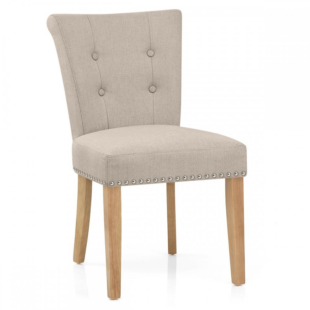 silla de comedor buckingham tapizada en tela y patas de madera ForSillas Para Comedor Tapizadas En Tela