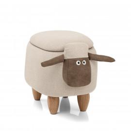 Taburete Baúl Infantil - Sheep
