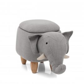 Taburete Baúl Infantil - Elephant