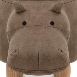 Taburete Baúl Infantil - Hippo